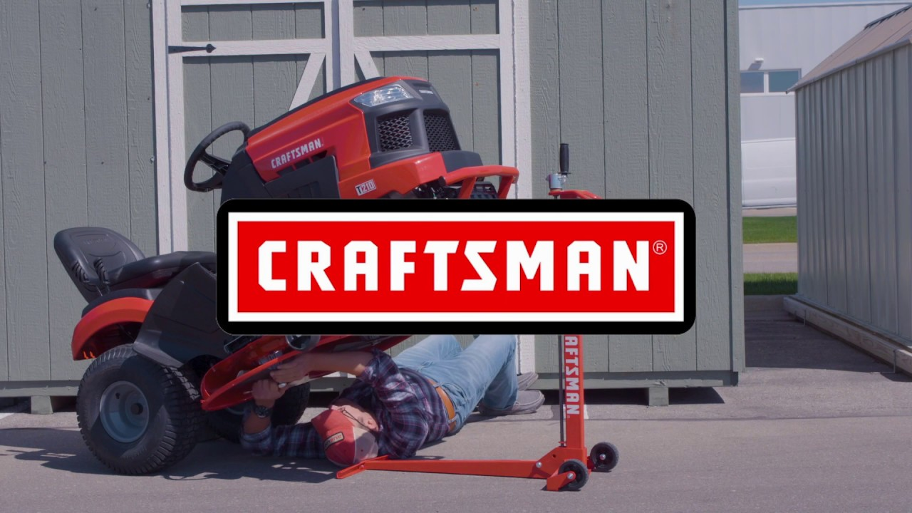 Craftsman Riding Mower Lift