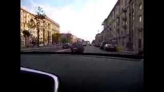 Первая поездка на личном автомобиле по городу Санкт- Петербургу.