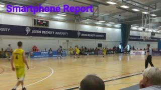 Smartphone Report Leeds Force v Sheffield Sharks
