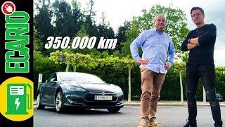 WIE LANGE hält ein Tesla ⏲️ 350000 km Model S Check
