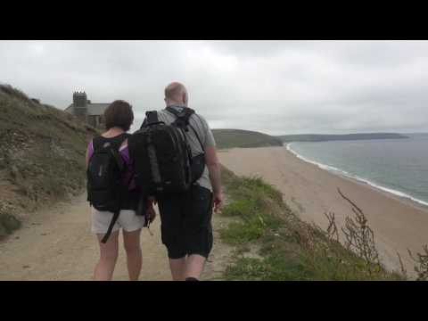 Porthleven And Loe Bar You Tube 4K
