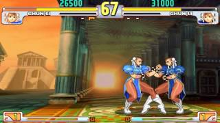 SFIII:3rd Strike - Chun-Li - Red-Parry - (Spinning Bird Kick)