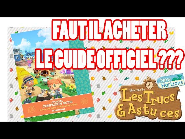📗 🐻 Faut-il acheter le Guide Compagnon officiel Animal Crossing New Horizon 🤗🤗 TUTO