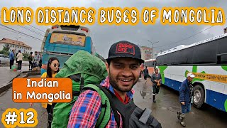 LONG DISTANCE BUSES OF MONGOLIA - Altai to Ulaanbaatar