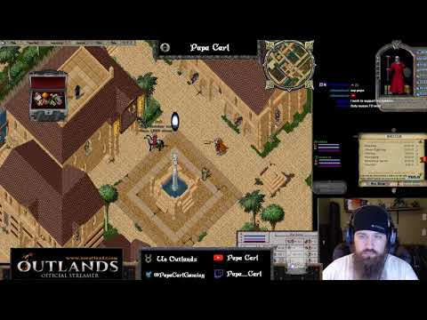 Exploring OwenUO Ultima Online `Outlands` map  by CakeForge