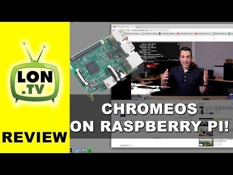 Chromium OS for All SBC Crams Chromium Onto a Raspberry Pi