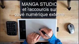 Tuto: Manga Studio et raccourcis sur pavé numérique !