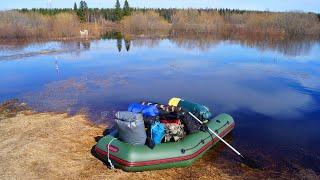 Весенняя охота на уток. Часть 1 | Жизнь в тайге | Дикая кухня | Финская свеча | Ондатра