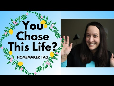 Why I chose to be a stay at home mom and homemaker