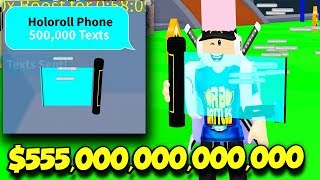 I BECAME A HACKER IN TEXTING SIMULATOR AND GOT THE $555,000,000,000 OP PHONE! (Roblox)