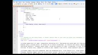 CSS3 Learning Series: Right Side Watermark