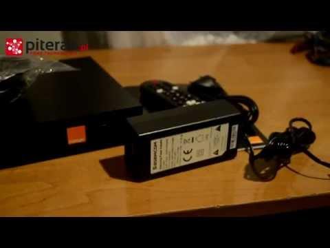 Dekoder SAGEMCOM UHD 88 - od Orange TV - Rozpakowanie PL