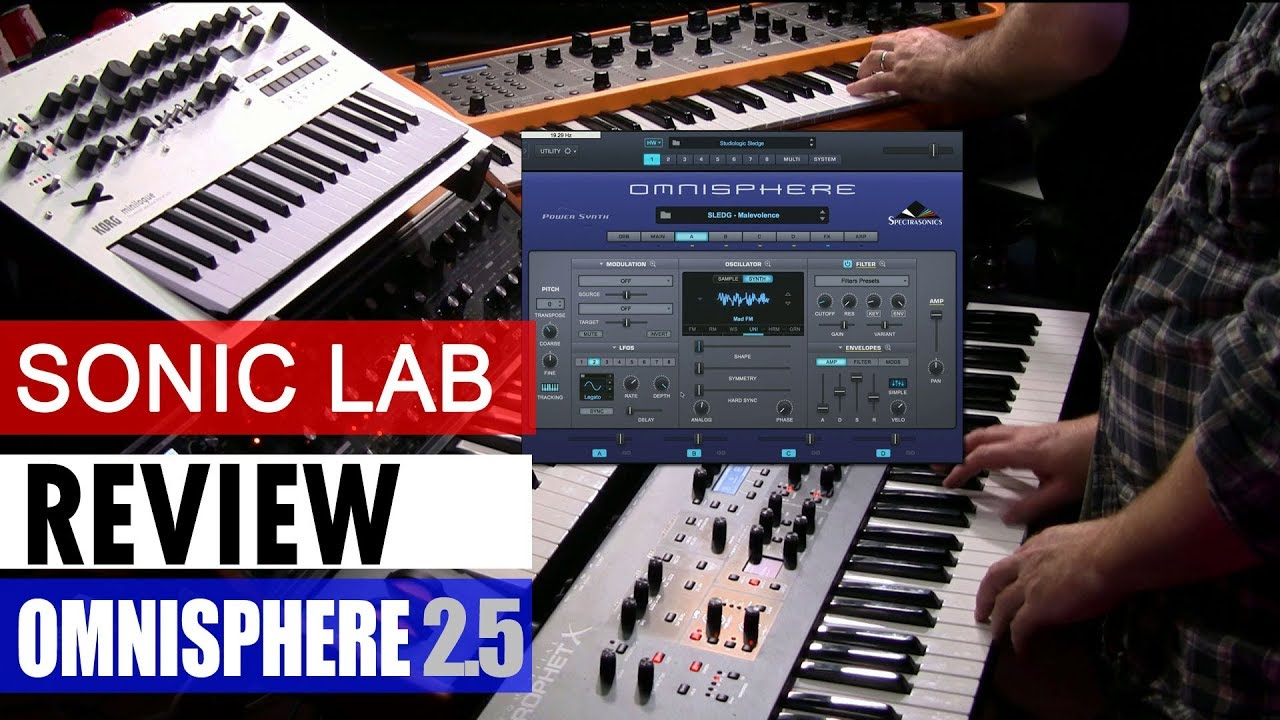 Sonic Lab: Omnisphere 2 5 Hardware Synth Profiles