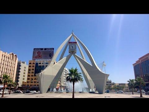 Dubai Deira Clock tower .