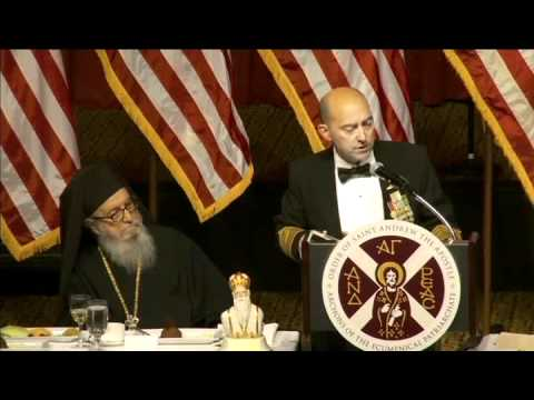 2011 Athenagoras Grand Banquet honoring Admiral James G. Stavridis and U.S. Armed Forces