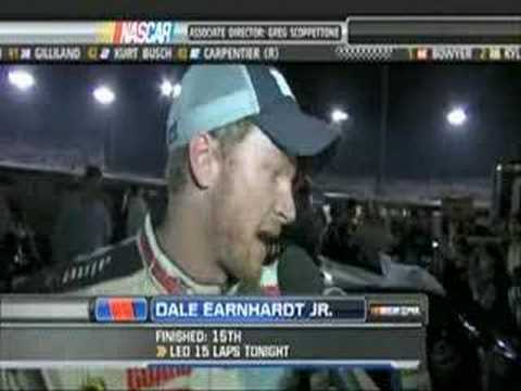 Post Race Talk after Kyle Busch spins Dale Jr. at Richmond