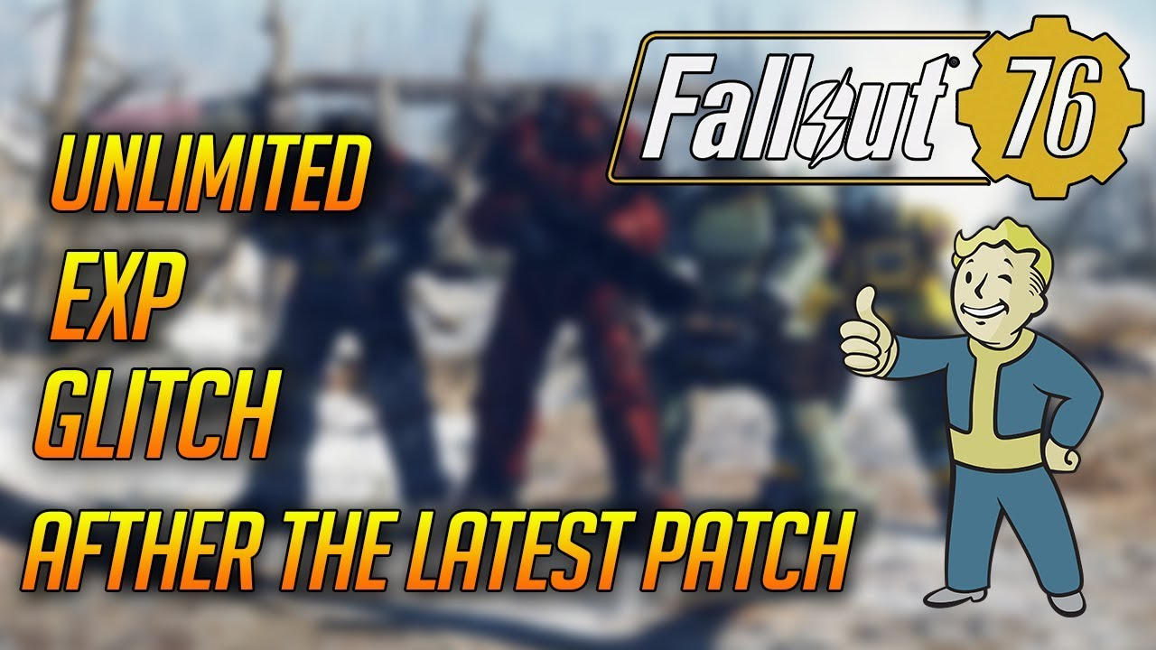 🔥NEW!🔥 FALLOUT 76 - UNLIMITED XP GLITCH AFTER THE UPDATE OF 4 DECEMBER!