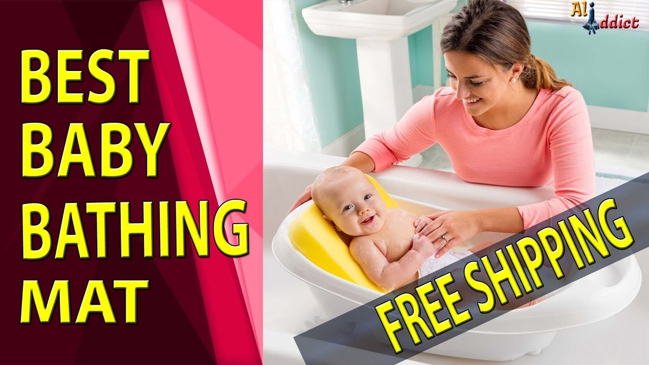 Newborn Baby Security Bath Mat - Affordable Baby Bathing Mat Review ...