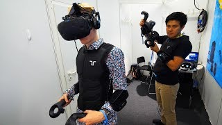 This VR Company makes Ready Player One's Haptic Suit a Reality