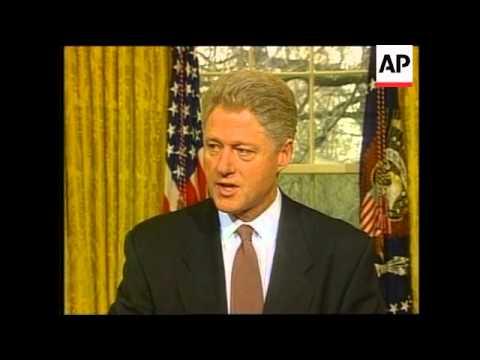 USA - Clinton defends Gore