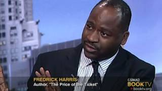 """BookTV After Words: Fredrick Harris, """"The Price of the Ticket"""""""