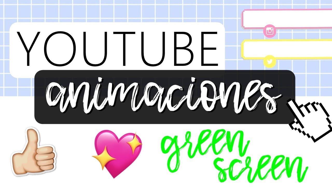 Como Hacer Animaciones Con Pantalla Verde Youtube