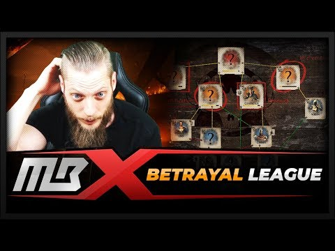 [PATH OF EXILE] – BETRAYAL LEAGUE – FIRST REACTION & THOUGHTS