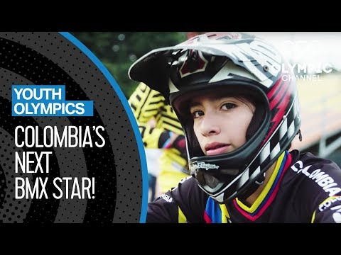 Colombia's Next BMX Star Aims at Buenos Aires 2018 | Youth Olympic Games