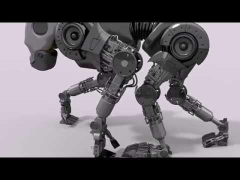 Робот бык