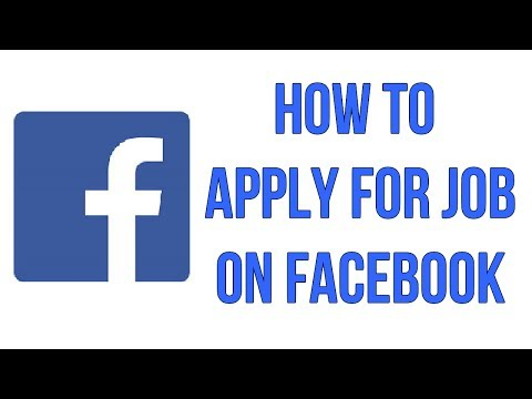 How To Apply Job On Facebook / Know More About Social Jobs Partnership App On Facebook