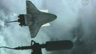 Discovery Space Shuttle Pitch Maneuver