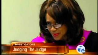 Judge Sylvia James testifies