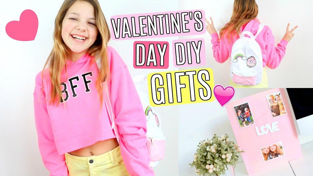 Diy Valentine S Day Bff Gifts Youtube