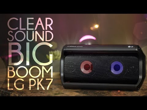 Best Sounding Bluetooth Speaker? LG PK7 with Meridian Audio Review