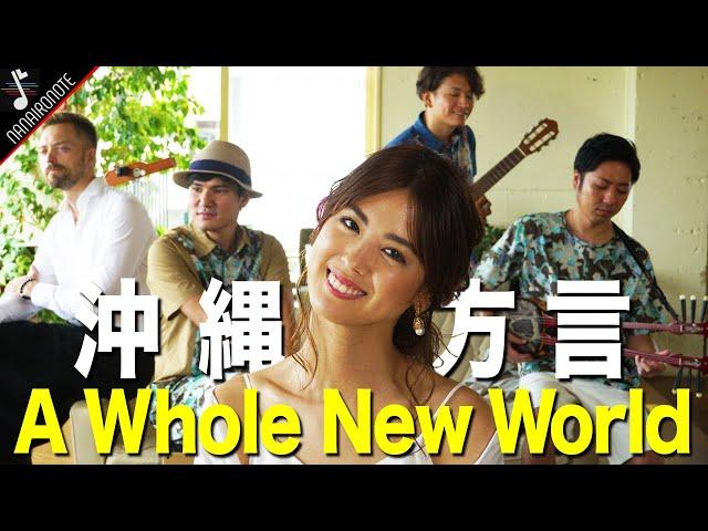 アラジン沖縄方言Ver.がまったく何言ってるかわからない!!『♪ A Whole New World 』Acoustic Cover by Nanaironote 【ワンカットMV】