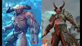 DOOM ETERNAL - ALL WEAPONS AND MONSTERS (SO FAR)