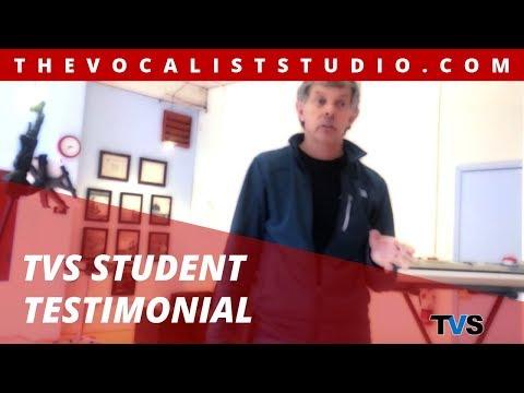 The Vocalist Studio - Ed Eades Testimonial