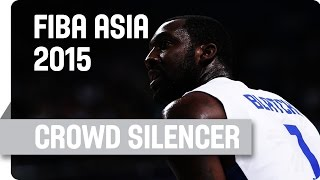 Andray Blatche: The Crowd Silencer! - 2015 FIBA Asia Championship