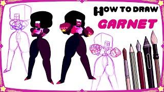 How to draw GARNET - Mink