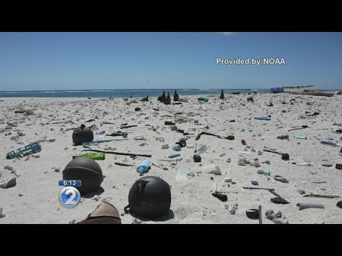 NOAA cleans marine debris in Northwestern Hawaiian Islands