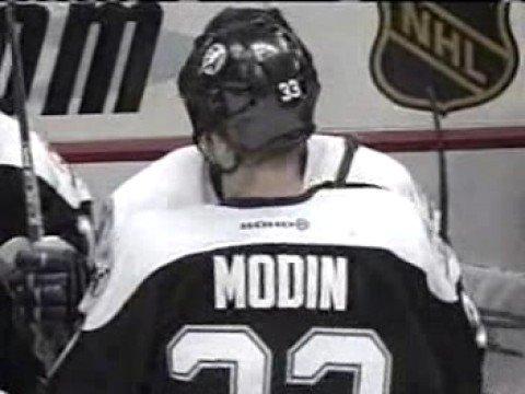 2002-03 Round 2/Game 5: Fredrik Modin Disallowed Goal