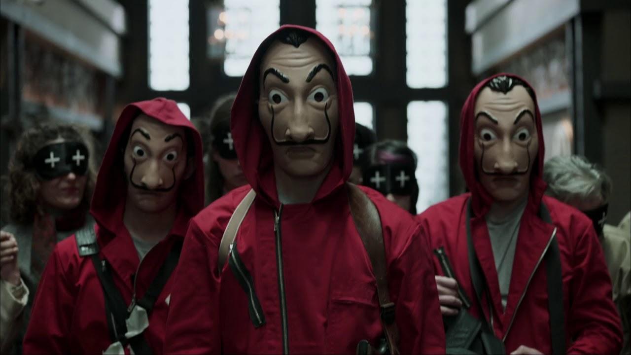 La Casa De Papel Money Heist Tv Series Trailer Youtube