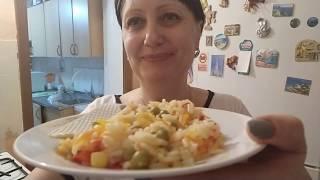 рис с овощами, как Гавайская смесь, только вкуснее