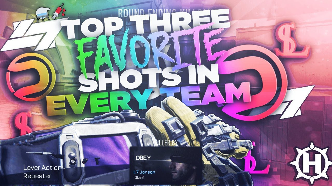 Top 3 Favorite Shots In Every Team Dare Jonson Youtube