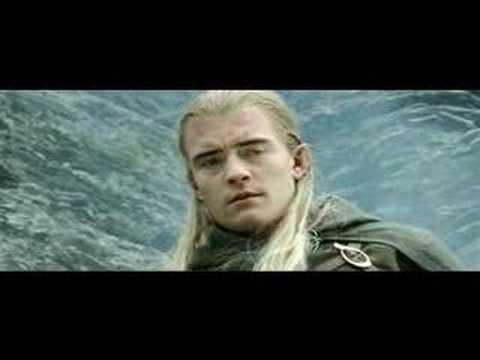 Legolas and Aragorn - Run - YouTube