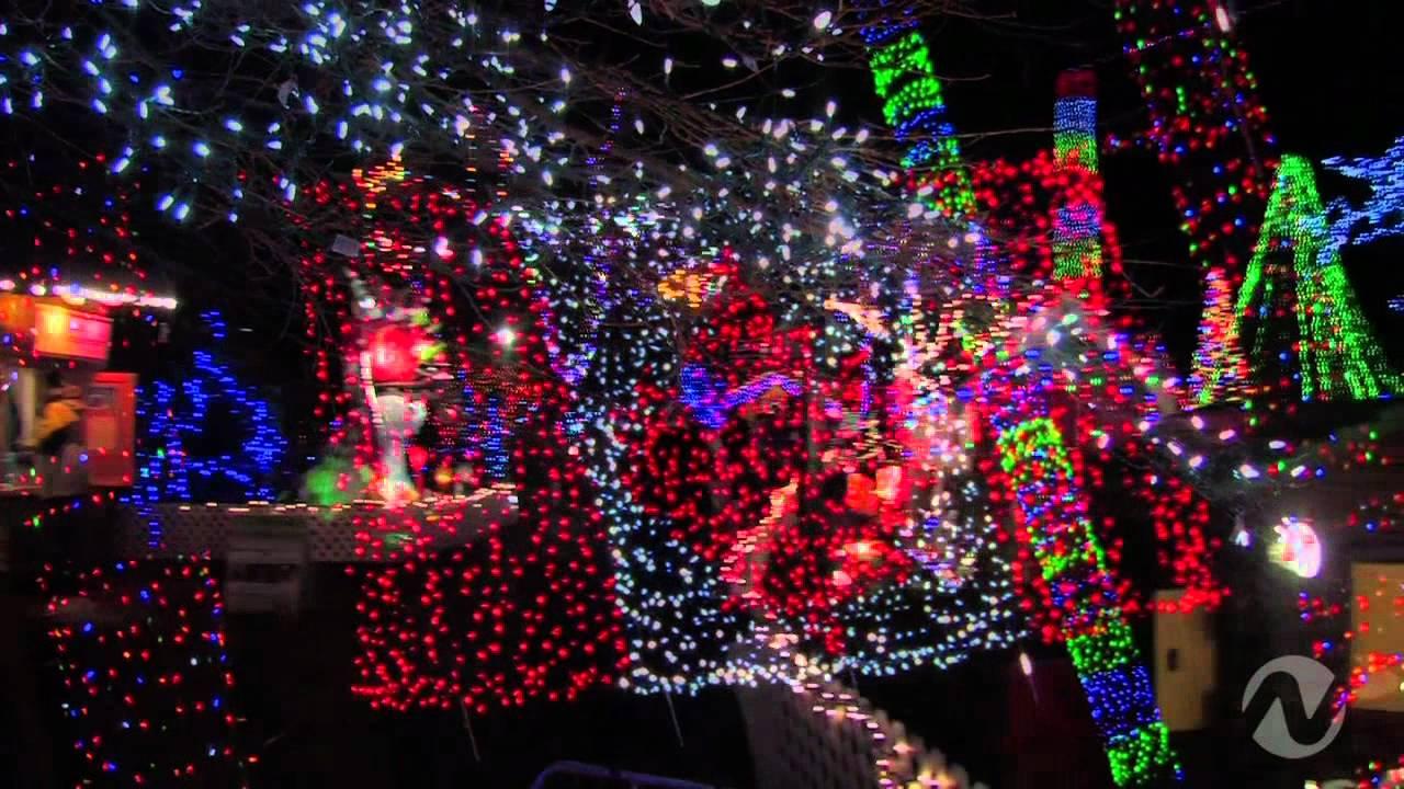 City Lights - Karaoke Christmas Lights Trolley Tour - YouTube