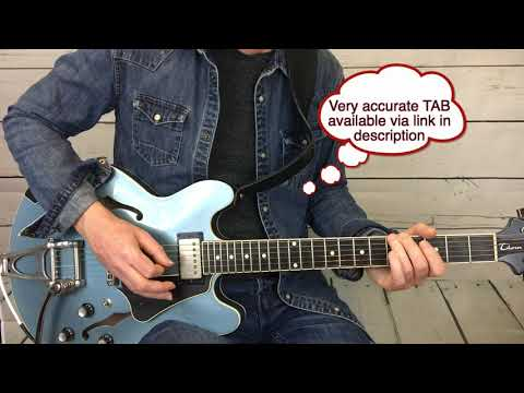 25 or 6 to 4 Terry Kath solo/ lesson by Emerson Swinford