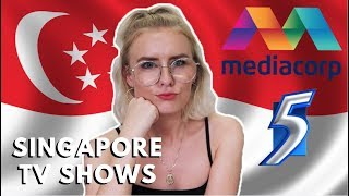 REACTING TO SINGAPORE TV SHOWS!