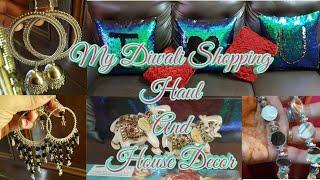 My Diwali Shopping HauL    My House Decor    Diwali special   SHINE WITH BHAVNA