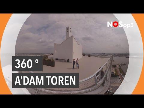 Het vetste uitzicht op Amsterdam, zeggen ze | NOS op 3